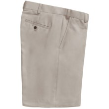 Geoffrey Beene Sorbtek Shorts - Wrinkle Resistant, Flat Front (For Men) in Stone - Closeouts