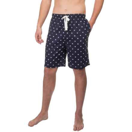 Geoffrey Beene Star Print Jams Shorts (For Men) in Navy - Closeouts