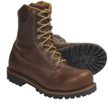Georgia Boot Chieftain Boots - Steel Toe (For Men) in Brown - Closeouts