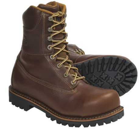 Georgia Boot Chieftain Boots - Steel Toe (For Men) in Brown