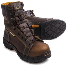 Georgia Boot Diamond Trax Work Boots - Waterproof, Steel Toe (For Men) in Brown - Closeouts