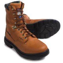 Georgia Boot Farm and Ranch Work Boots - Leather, Waterproof (For Men) in Briar Brown - Closeouts