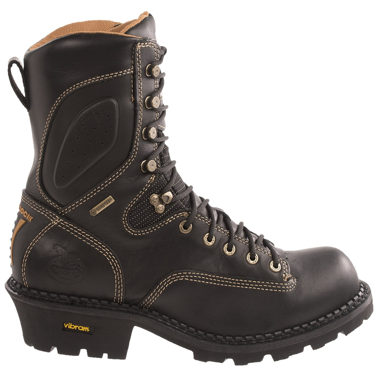 Georgia Boot Gore Tex 174 Comfort Core Logger Work Boots For