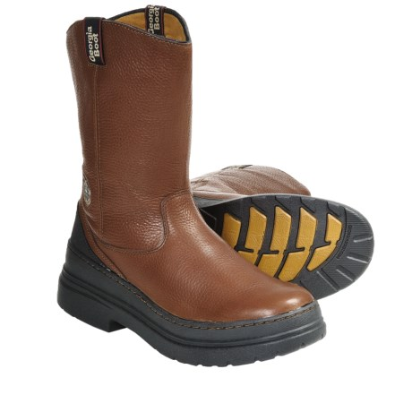 Georgia Boot Homeland Wellington Boots (For Men) in Brown