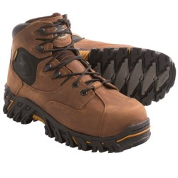 Georgia Boot Ironton Work Boots - Steel Toe (For Men) in Brown