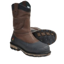 Georgia Boot Muddog Boots - Steel Toe, Waterproof, 10'' (For Men) in Brown - Closeouts