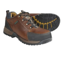 Georgia Boot Riverdale Shoes - Steel Toe, Waterproof (For Men) in Brown
