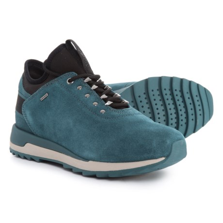 Geox Aneko B ABX Sneakers - Suede (For Women) in Dark Azure