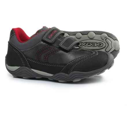 Geox Arno C Sneakers (For Little and Big Boys) in Grey/Red - Closeouts
