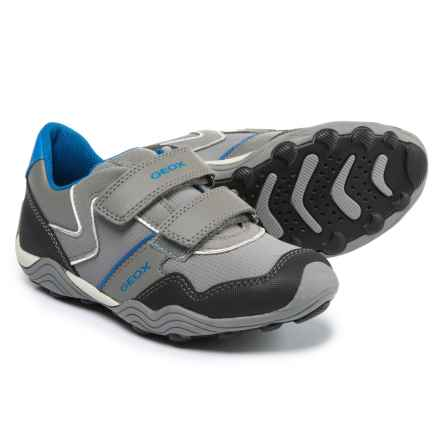Geox Arno C Sneakers (For Little and Big Boys) in Grey/Sky - Closeouts
