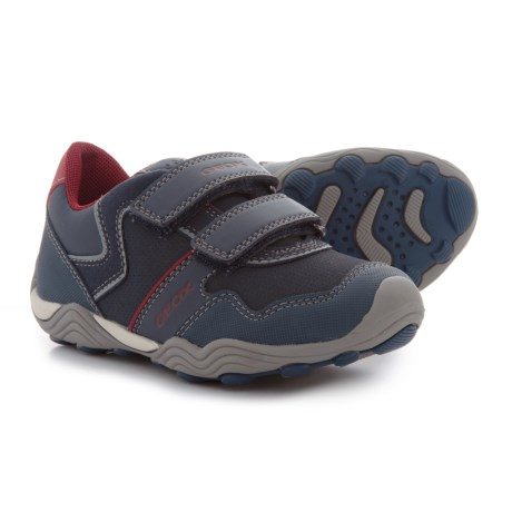 Geox Arno Sneakers (For Little Boys) in Navy/Dark Red