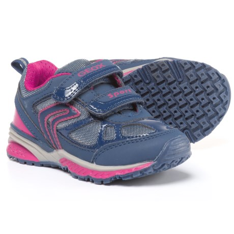 Geox Bernie Sneakers (For Little and Big Girls) in Navy/Fuchsia
