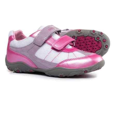 Geox Better Sneakers (For Little and Big Girls) in Lt Pink - Closeouts