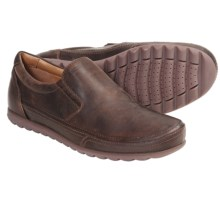 Geox Flexi Shoes - Slip-Ons (For Men) in Coffee - Closeouts