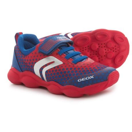 Geox J. Munfrey B. D. Mesh Sneakers (For Boys) in Red/Royal