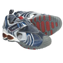 Geox Jr. Fighter Sandals (For Kids and Youth) in Navy/Silver - Closeouts