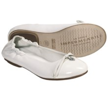 Geox Jr. Flower Cuoio Shoes - Slip-Ons (For Kid and Youth Girls) in White - Closeouts