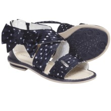 Geox Jr. Giglio Sandals (For Kid and Youth Girls) in Navy - Closeouts