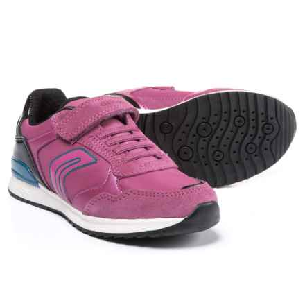 Geox Jr Maisie G. A Active Sneakers (For Girls) in Dark Fuchsia - Closeouts