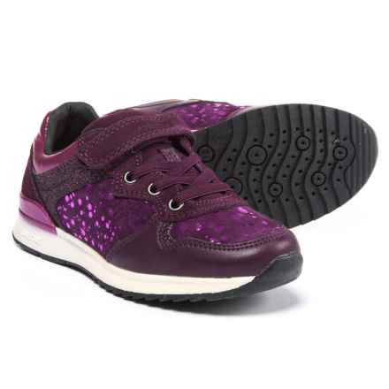 Geox Jr Maisie G. A Active Sneakers (For Girls) in Prune/Violet - Closeouts