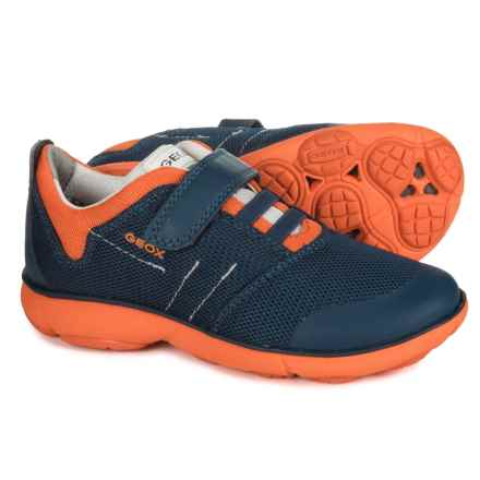 Geox Jr Nebula Sneakers (For Boys) in Navy/Orange - Closeouts