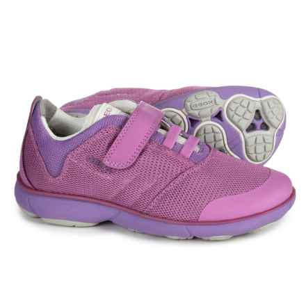Geox Jr Nebula Sneakers (For Girls) in Fuchsia - Closeouts