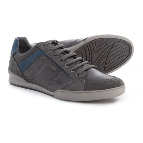 Geox Kristof Sneakers - Leather (For Men) in Anthracite