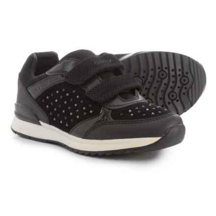 Geox Maisie Sneakers (For Girls) in Black - Closeouts