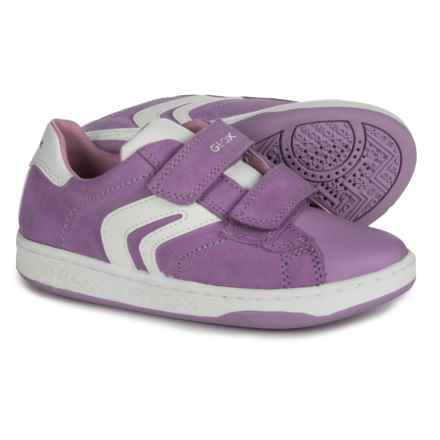 Geox Mania G. A. Sneakers - Suede (For Girls) in Lilac - Closeouts