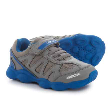 Geox Munfrey Sneakers (For Boys) in Grey/Royal - Closeouts