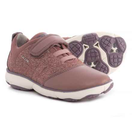 Geox Nebula Sneakers (For Girls) in Light Pink - Closeouts