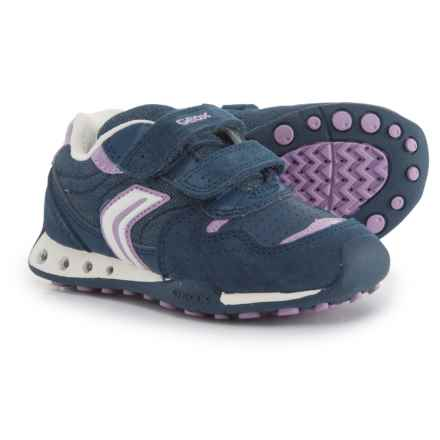 Geox New Jocker Sneakers (For Girls) in Avio/Lilac - Closeouts