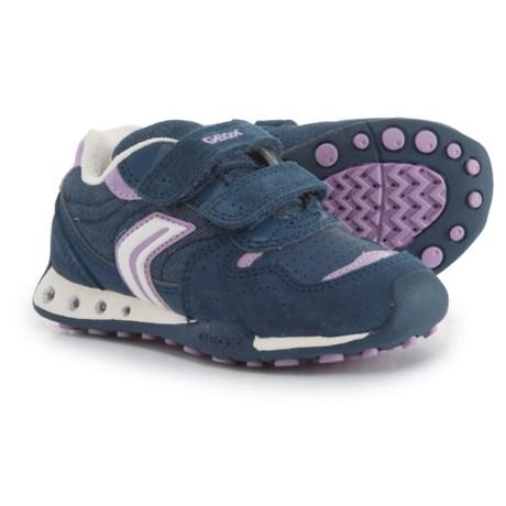 Geox New Jocker Sneakers (For Girls) in Avio/Lilac