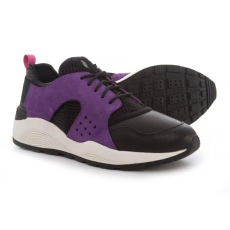 Geox Omaya Plus Sneakers (For Women) in Purple/Black