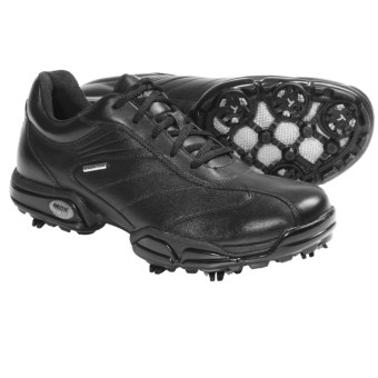 Geox Protech Capitol Golf Shoes - Waterproof (For Men) in Black