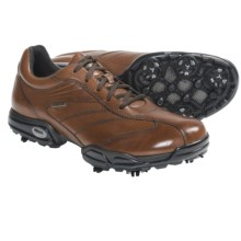 Geox Protech Capitol Golf Shoes - Waterproof (For Men) in Brown - Closeouts