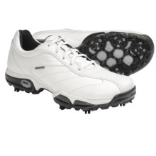 Geox Protech Capitol Golf Shoes - Waterproof (For Men) in White - Closeouts