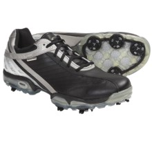 Geox Protech Matrix Golf Shoes - Waterproof (For Men) in Black/Silver - Closeouts