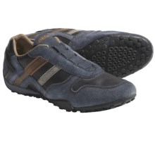 Geox Snake Hidden Quick-Lace Shoes - Oxfords (For Men) in Grey - Closeouts