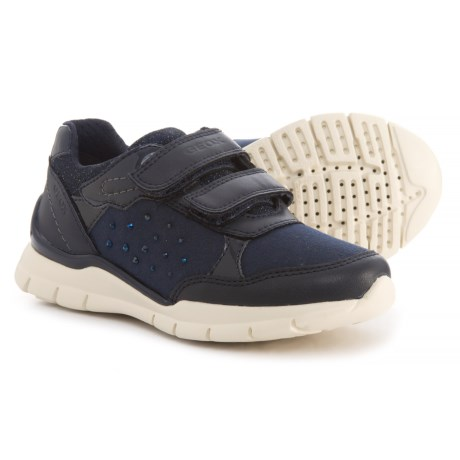 Geox Sukie Sneakers (For Girls) in Navy