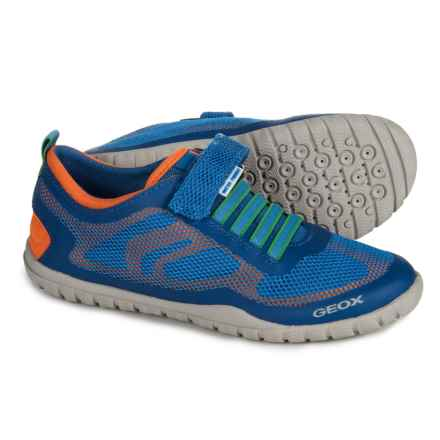 Geox Trifon Sneakers (For Boys) in Royal/Orange - Closeouts