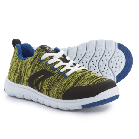 Geox Xunday Sneakers (For Boys) in Lime