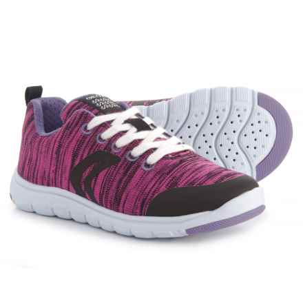 Geox Xunday Sneakers (For Girls) in Fuchsia - Closeouts