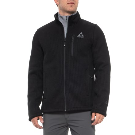 832d608df Gerry Black Basecamp Fleece Jacket (For Men) in Black - Closeouts