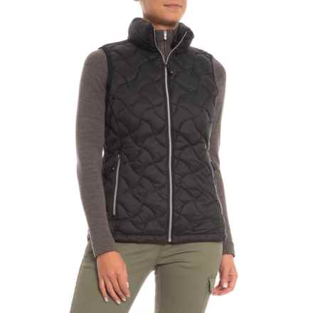 Gerry Cathy Sweater Down Vest - Insulated (For Women) in Black - Closeouts