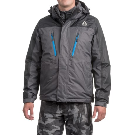 Gerry Crusade 3-in-1 Jacket - Waterproof, Insulated (For Men)