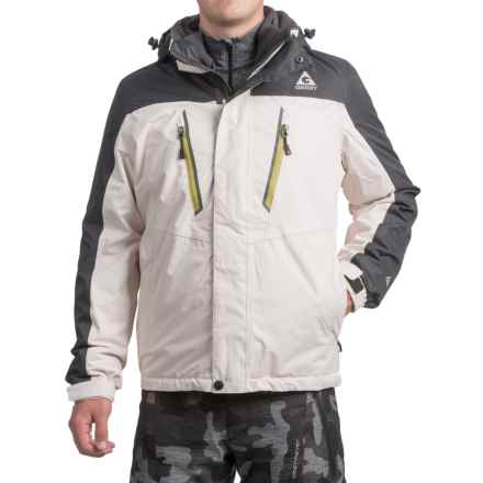 Gerry Crusade 3-in-1 Jacket - Waterproof, Insulated (For Men) in Silver Ice - Closeouts