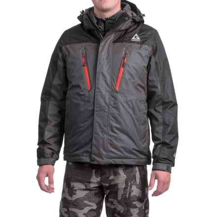 Gerry Crusade 3-in-1 Jacket - Waterproof, Insulated (For Men) in Slate - Closeouts
