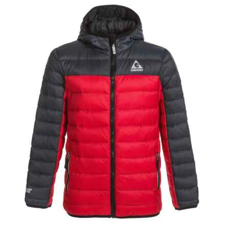 Gerry Eagle Crest Down Jacket (For Boys) in Red - Closeouts
