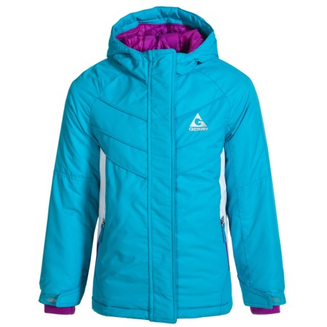 Gerry Elery Jacket - Insulated (For Little Girls) in Bahama